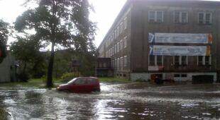 Zalane ulice Chorzowa