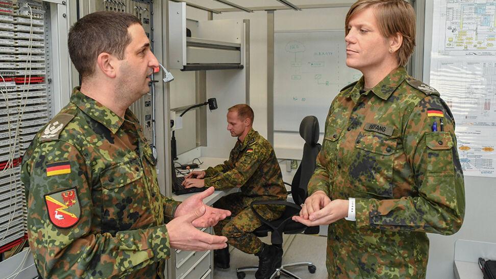 Transseksualistka pokieruje batalionem Bundeswehry