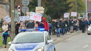 """Protest na Odolanach. """"Dzielnica rozwija się w sposób chaotyczny"""""""