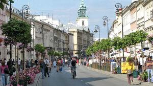 Od soboty Nowy Świat i Krakowskie Przedmieście deptakiem