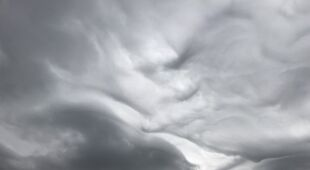 Chmury nad Polanicą Zdrój