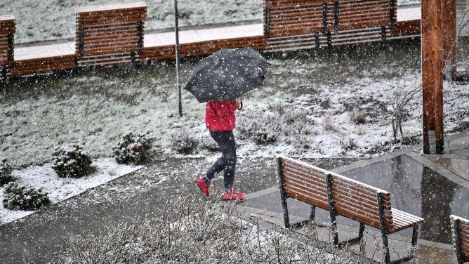 Pogoda na dziś: i deszcz, i deszcz ze śniegiem, i sam śnieg