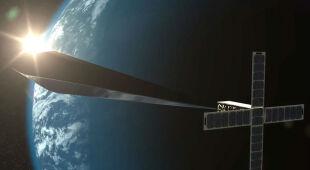 """""""Orbital Reflector"""" ma się rozwinąć w kosmosie do rozmiaru dwóch autobusów"""