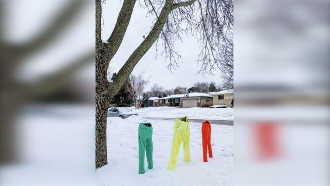 Uwaga, w Minnesocie zamarzają spodnie