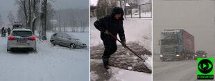 """""""Ale wreszcie jest zima!"""". Śnieżnie na Dolnym Śląsku"""