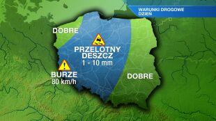 Na południu Polski mogą pojawić się mgły i zamglenia